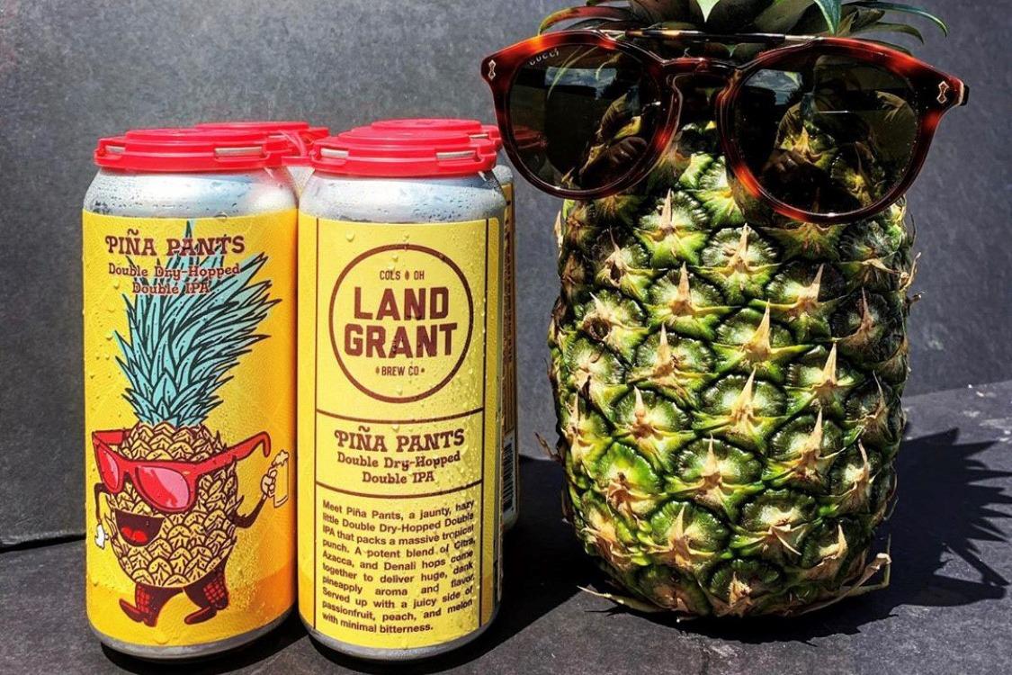 Land Grant Custom Beer Label