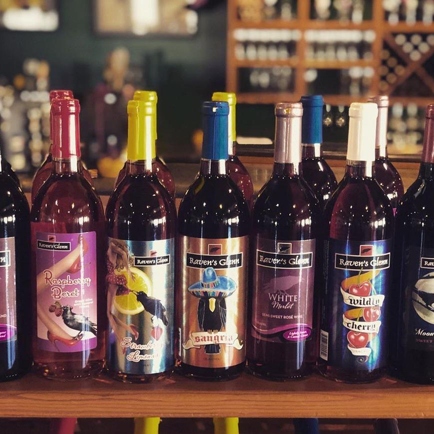 Custom Wine & Spirits Labels For Raven's Glenn